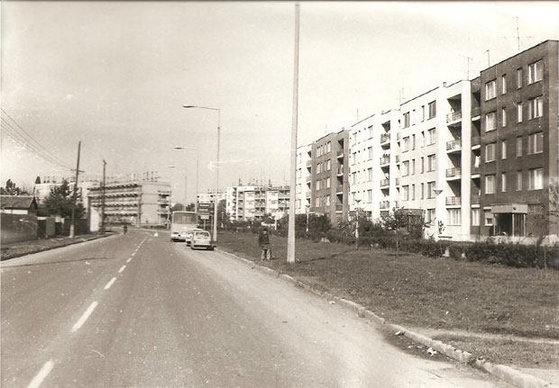 Fotó: Széchenyi lakótelep (Fotó Rádi György. Asbóth M. gyűjt.)