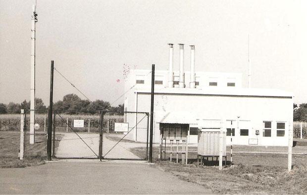 Fotó: Gázfogadó állomás (Fotó Rádi György. Asbóth M. gyűjt.)